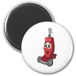 Red Vacuum Cleaner Magnet
