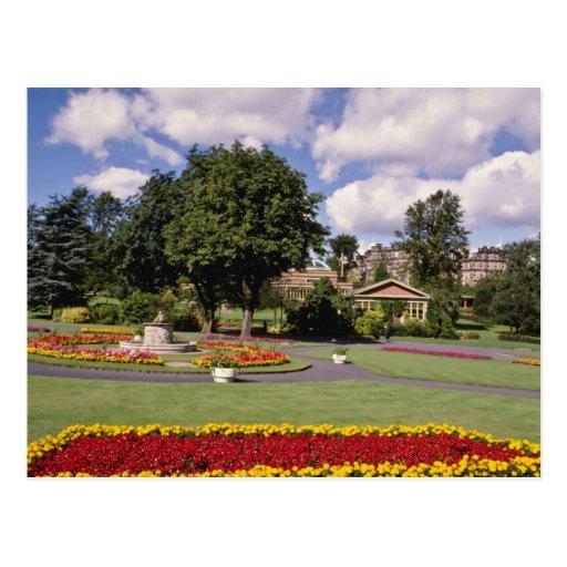 Red Valley Gardens, Harrogate, North Yorkshire, En Postcard