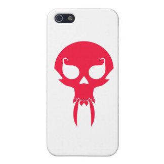 RED VAMPIRE SKULL COVER FOR iPhone 5