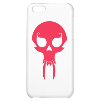RED VAMPIRE SKULL COVER FOR iPhone 5C