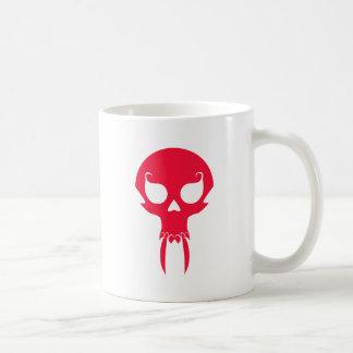 RED VAMPIRE SKULL COFFEE MUGS