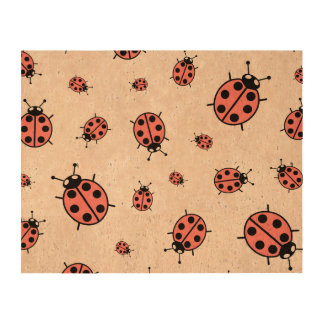 Red Vector Lady Bugs Queork Photo Prints