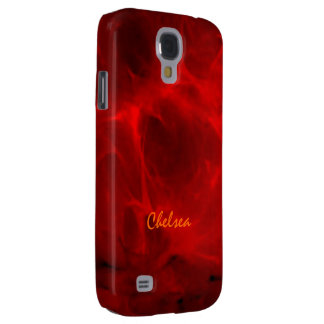 Red Veined Samsung Galaxy S4 case for Chelsea