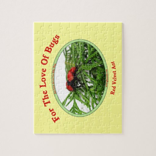 Red Velvet Ant Love Bugs Puzzles