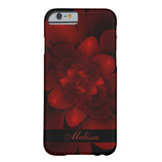 Red Velvet Bloom Barely There iPhone 6 Case