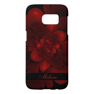 Red Velvet Bloom Samsung Galaxy S7 Case