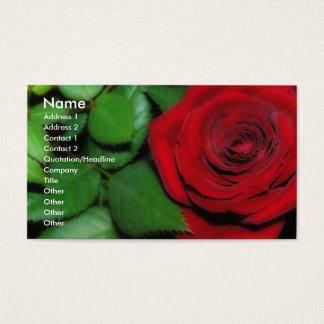 Red Velvet Business Card