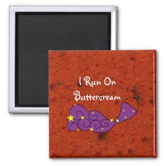 Red Velvet Cake and Buttercream Magnet