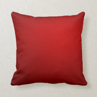 Red Velvet Cake Crushed Velvet Throw Pillow