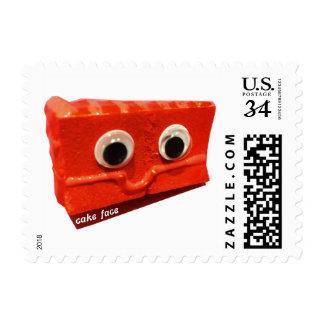 Red Velvet Cake Face Stamp