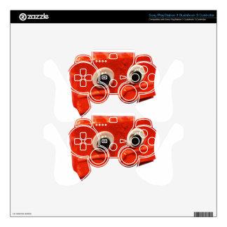 red velvet cake face w logo decal for PS3 controller