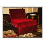 Red Velvet Chair Custom Flyer