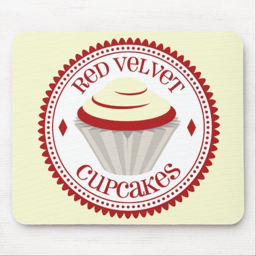 Red Velvet Cupcake Mousepad