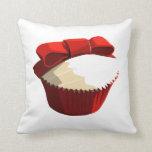 Red velvet cupcake pillows