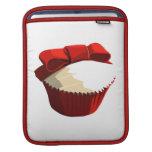 Red velvet cupcake Rickshaw iPad sleeve