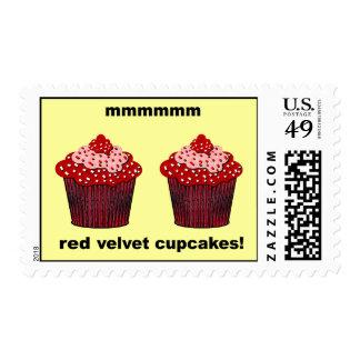 red velvet cupcakes postage