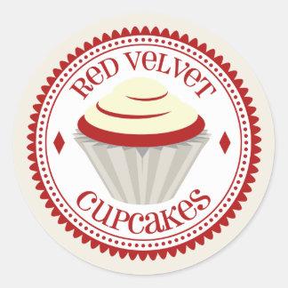 Red Velvet Cupcakes Sticker