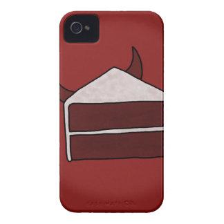 Red Velvet Devil Cake Case-Mate iPhone 4 Cases