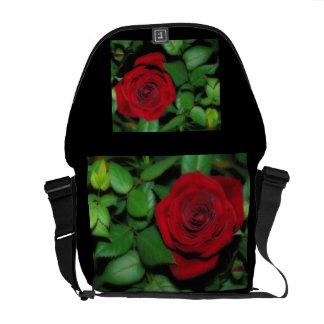 Red Velvet Messenger Bag