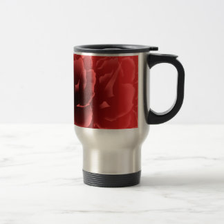Red Velvet Peony Travel Mug