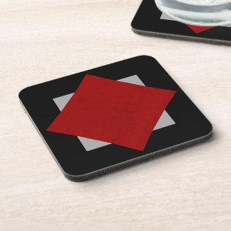 Red Velvet Personalized Home Casino Coaster