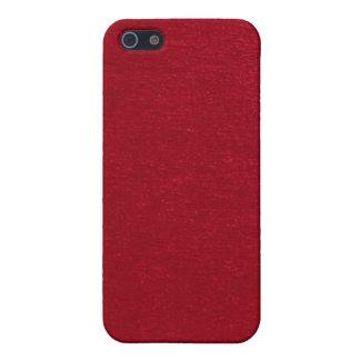 Red velvet texture iPhone case