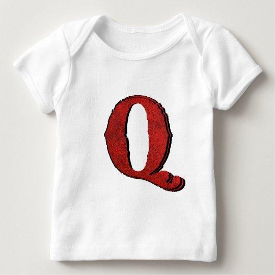 Red Velvet Vampire Font Lettered T-Shirts. Baby T-Shirt