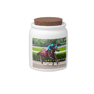 Red Velvet wins the Jersey Girl Stakes Candy Jar