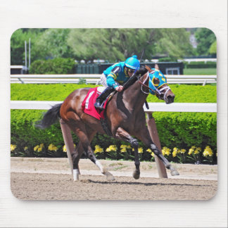 Red Velvet wins the Jersey Girl Stakes Mousepad