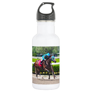 Red Velvet wins the Jersey Girl Stakes Stainless Steel Water Bottle