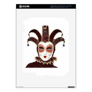 Red Venetian Carnivale Mask iPad 3 Skins