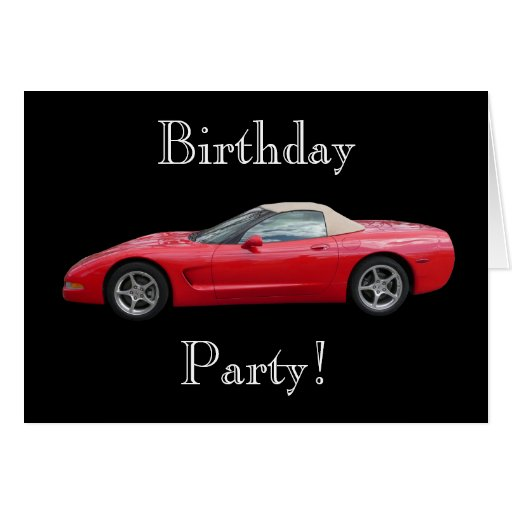 red vette greeting cards