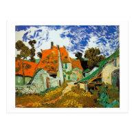 red village, Vincent van Gogh Postcards