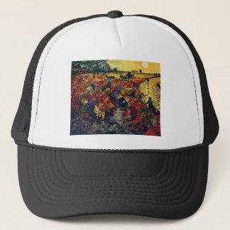 Red Vineyard, Van Gogh, 1888 Trucker Hat