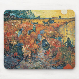 Red Vineyards at Arles, 1888 Mouse Pad