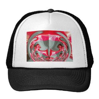 Red Vintage Hakuna Matata round gifts Trucker Hat