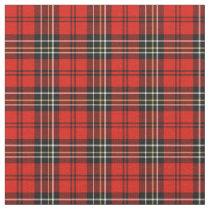 Red Vintage Plaid Fabric
