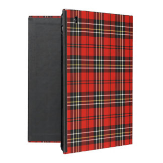 Red Vintage Plaid iPad Covers