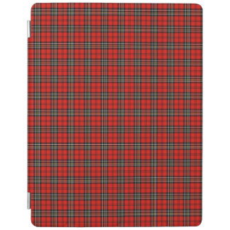 Red Vintage Plaid Pattern iPad Smart Cover