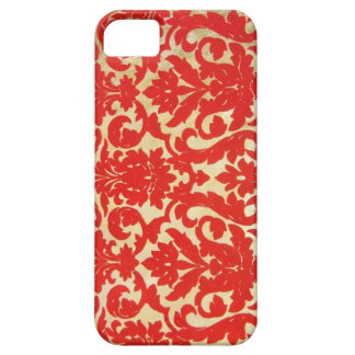 Red Vintage Print iPhone SE/5/5s Case