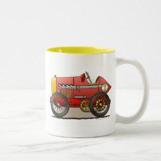 Red Vintage Race Car Mugs