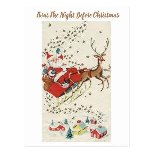 Vintage Santa Claus Postcards No Minimum Quantity Zazzle
