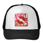 Red Vinyl Rules, ok? Mesh Hat