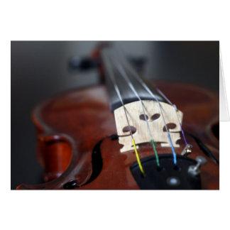 Red Violin Card