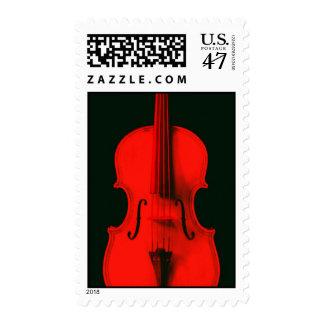 Red Violin Viola Postage for TheViolinSite