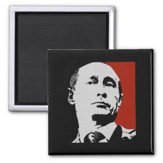 Red Vladimir Putin Magnet