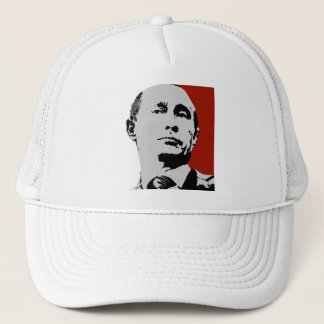 Red Vladimir Putin Trucker Hat