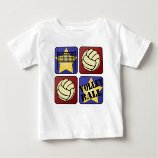 Red Volleyball Baby T-Shirt