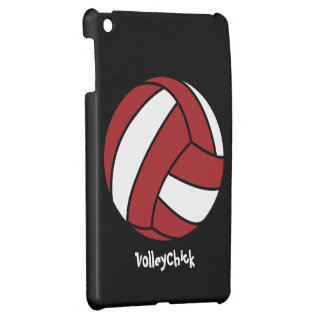 Red Volleyball (customizable) iPad Mini Cover