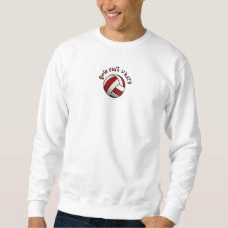 Red Volleyball Sweatshirt